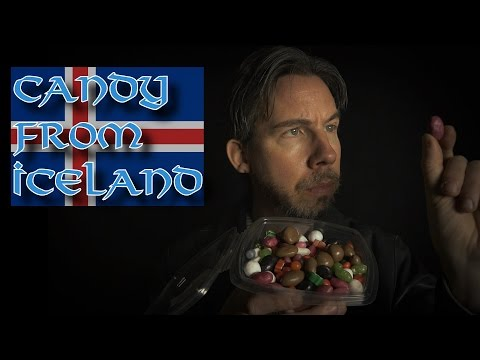 The Candy Man: Candy from Iceland (ASMR)