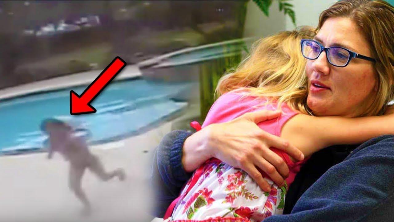 فتاة عمرها 5 سنوات أنقذت حياة والدتها بشكل لا يصدق   سبحان الله !!