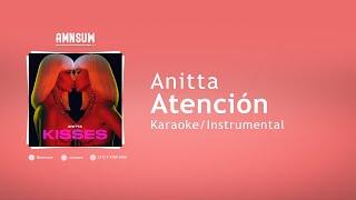 Anitta - Atención (Karaoke/Instrumental With Lyrics)