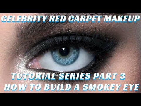 How To Do A Celebrity Smokey Eye Celebrity Red Carpet Makeup Tutorial Series 3 Mathias4makeup