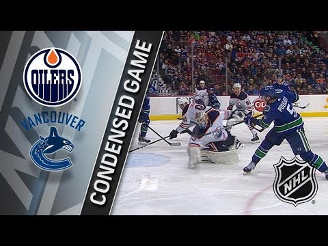 Edmonton Oilers vs Vancouver Canucks – Mar. 29, 2018 | Game Highlights | NHL 2017/18. Обзор