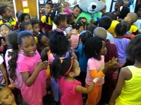 Halli Trust Visit to St. Johns Pre-primary in Rusthof, Strand, Western Cape