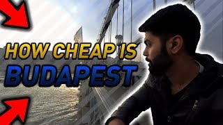 HOW CHEAP IS BUDAPEST? IS BUDAPEST EXPENSIVE? DELHI TO BUDAPEST | BUDAPEST GUIDE HINDI | INDIAN
