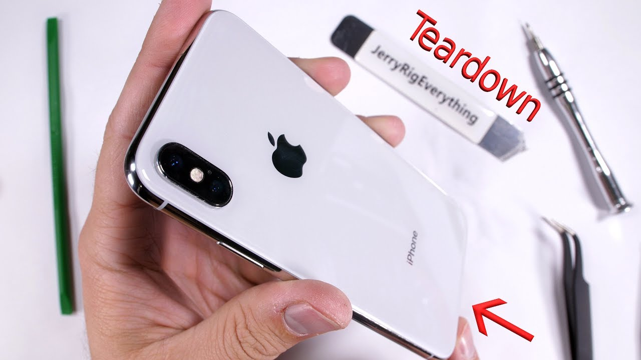 new styles 146f4 2f025 iPhone X Teardown! - Screen and Battery Replacement shown in 5 minutes