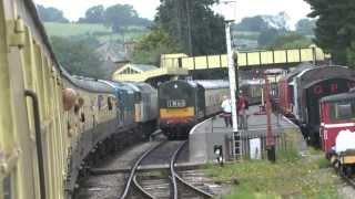 Gloucestershire Warwickshire Railway. Diesel Heritage Weekend