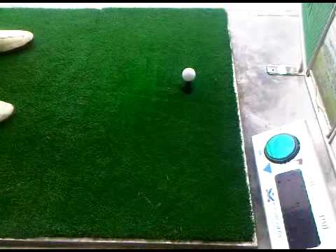 Advanced driving range (Mines resort city Malaysia) with Auto tee up system