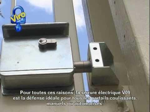 Serrure Electrique V09 Pour Portails Coulissants Art 7905 Youtube