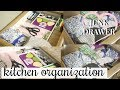KITCHEN ORGANIZATION! | JUNK DRAWER ORGANIZE & DECLUTTER