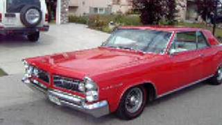 Blood Red 1963 Pontiac Grand Prix