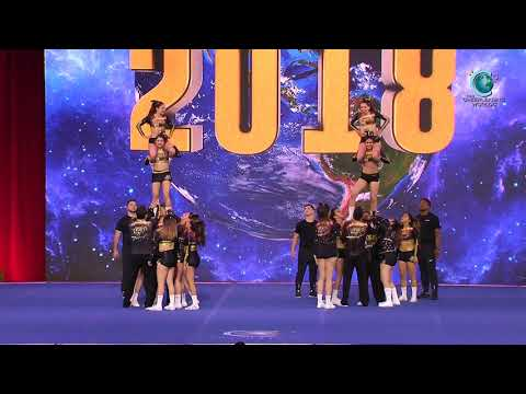 Force Academy Chihuahua - Force Gold (Mexico) [2018 International Open Small Coed Level 6 Semis]