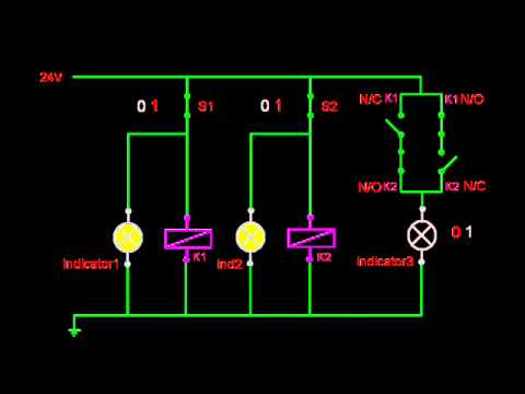 ex or gate with relay logic