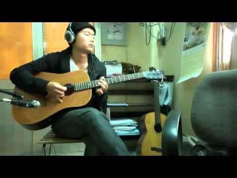 烟雨蒙蒙-Vicky Zhao- Me playing guitar (烟雨蒙蒙-Yan Yu Meng Meng by Vicky Zhao )