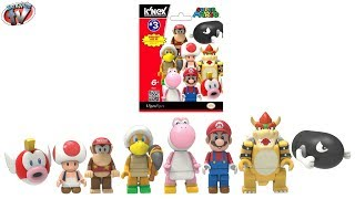 Super Mario Series 3 Mystery Figure Blind Bags Toy Review, K'Nex