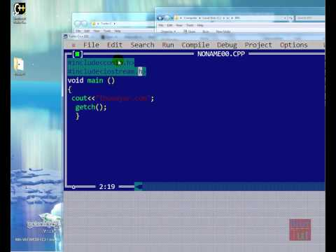 turbo prolog  for windows 7