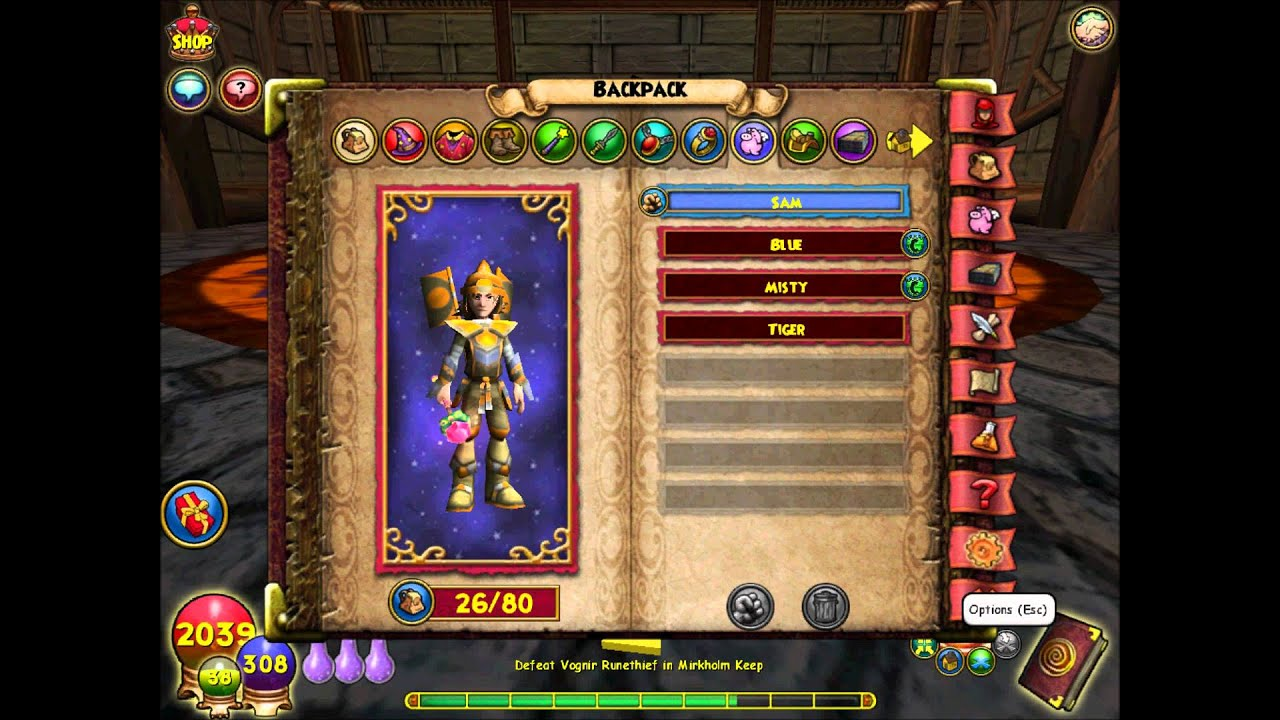 Wizard101- Level 35 Balance Quest