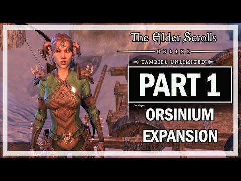 The Elder Scrolls Online Orsinium Walkthrough Part 1 Wrothgar - Let's Play Gameplay