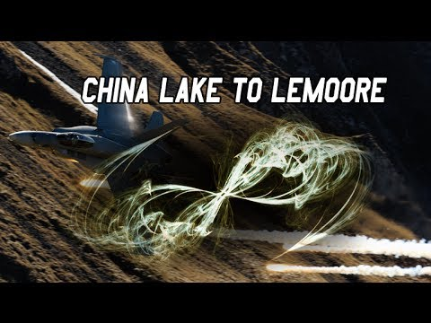 F/A-18C's FSX China Lake to Lemoore NAS