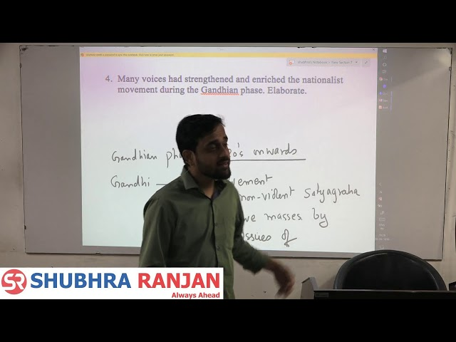 GS Mains 2019 Paper 1 (History) Discussion by Dr. Jayesh Khaddar
