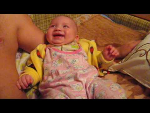 Смешное видео про детей 2017 РЕБЁНОК СМЕЁТСЯ АФФТАР РЖЁТ :-) BABY LAUGHS AUTHOR LAUGHS :-)
