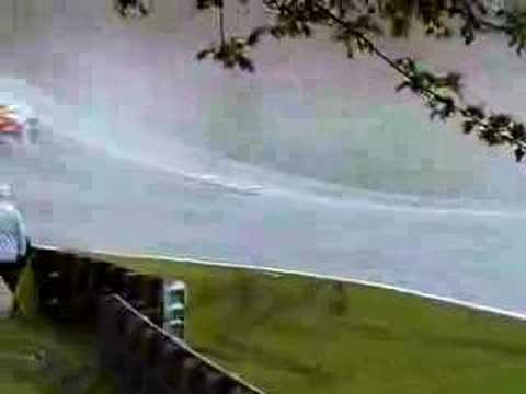 Formula Palmer Audi at VERY wet Brands Hatch