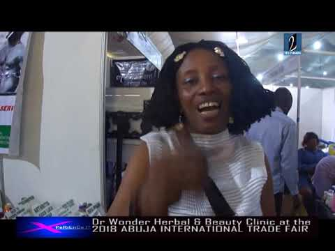 DR WONDER HERBAL and BEAUTY CLINIC AT THE 2018 ABUJA INTERNATIONAL TRADE FAIR