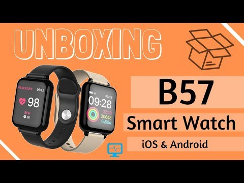  2019  B57 Smart Watch⌚️  el Apple Watch Chino 🇨🇳! Barato y Eficiente 🤑