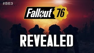Fallout 76 Revealed - Monsters, Map, Power Armor, Plot, Multiplayer - Bethesda