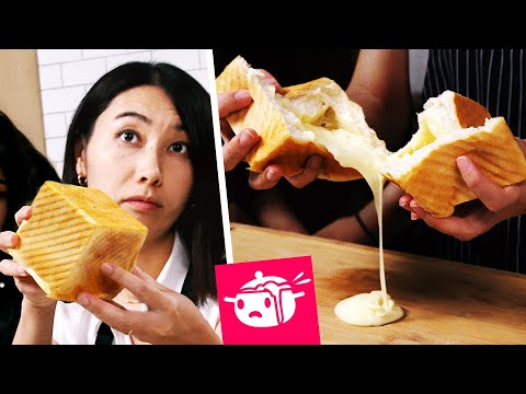 I Tried To Re-Create This Cheesy Bread Cube Eating Your Feed Tasty