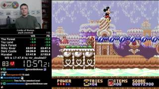 (17:44) Castle of Illusion (Genesis) - any% normal difficulty speedrun *World Record*