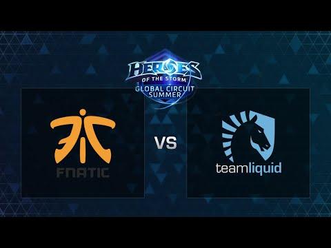 HOTS - Fnatic vs Liquid - Game 1 - Group B - Europe Summer Regional