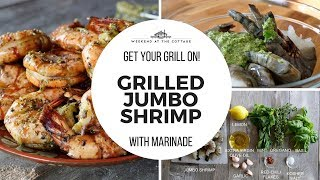 The best GRILLED JUMBO SHRIMP!