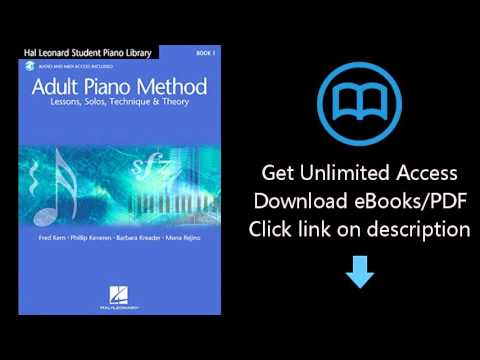 Download Hal Leonard Student Piano Library Adult Piano Method: Book 1 with online audio PDF