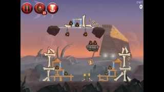 Angry Birds Star Wars 2! Бегство на Татуин! Свинская сторона! Уровени 10 11 12! Серия 23! Энгри берд