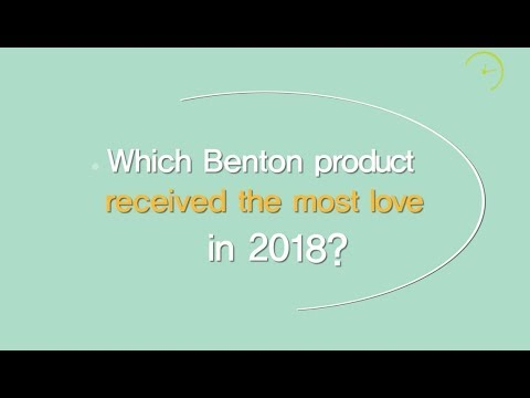 Which Benton product received the most love in 2018?