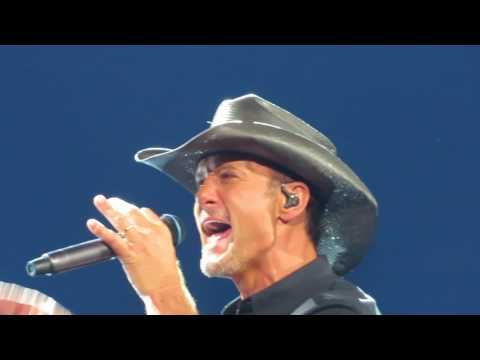 Tim McGraw - Live Like You Were Dying - LIVE Front Row Denver 1AUG2017