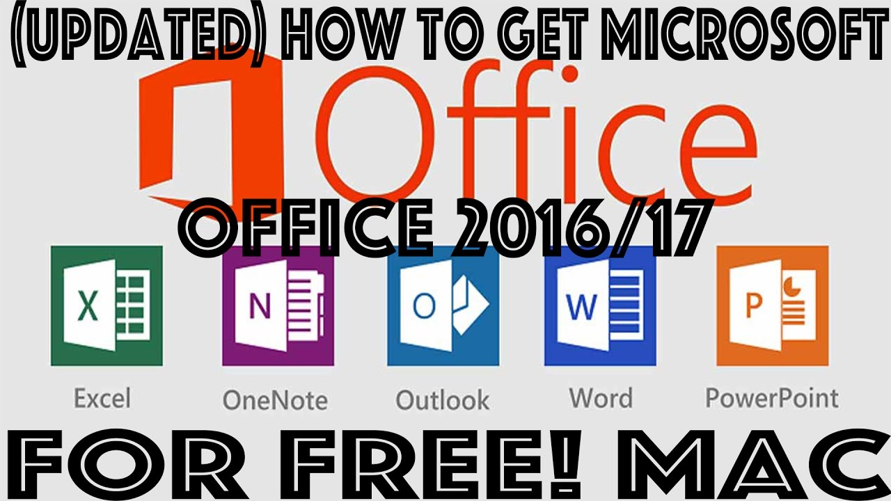 100 working how to get microsoft office for free mac youtube - How to get office for mac ...