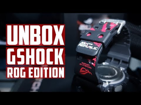 Unbox G-Shock ROG Limited Edition