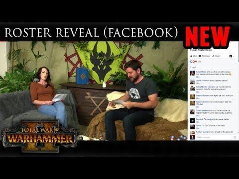 Total War: Warhammer 2 - Skaven Roster Facebook Reveal (More Units announced)