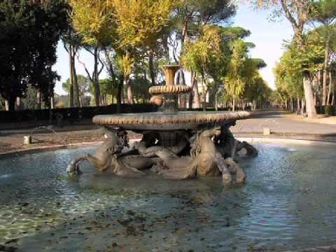 The Roman Fountains Private tours in Rome Rusrim.com soft music A Karanov