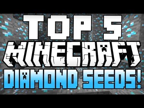 Minecraft Seeds - TOP 5 MINECRAFT SEEDS! (Minecraft 1.8) (Best Minecraft Diamond Seeds) - 2015