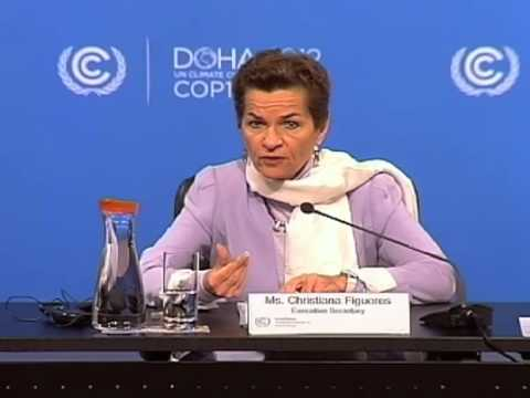 Doha progress update by Christiana Figueres on 30 November 2012