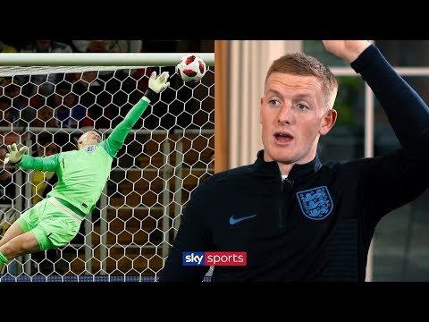 Jordan Pickford explains how he made THAT save against Colombia! | Exclusive Interview