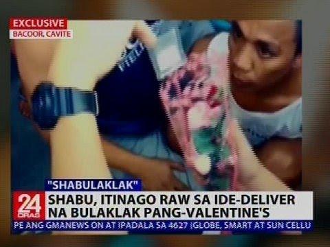 Shabu, itinago raw sa ide-deliver na Valentine flowers