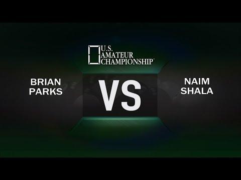 2017 US Amateur Championship - Brian Parks VS Naim Shala - Round 2