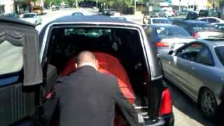 R.I.P. Hector Santiago Funeral Home Exit