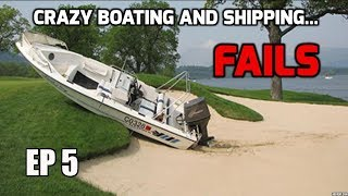 Shipping/Boating crashes and failures ((compilation)) Crazy Boat Accidents Ep 5