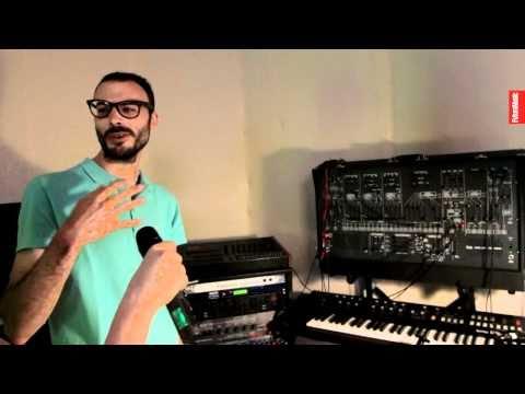 Joakim Studio tour