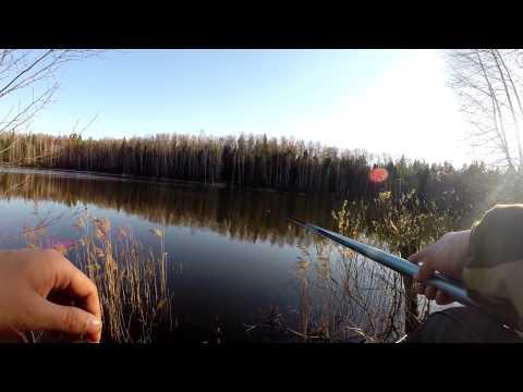 весенняя рыбалка на удочку с боковым кивком