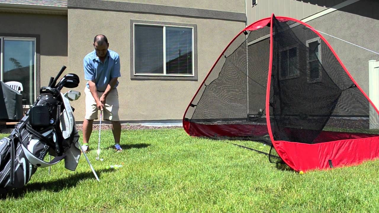Pro Advanced Readynet Golf Practice Net Youtube