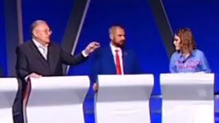 Жириновский назвал Собчак ШЛЮХОЙ в прямом эфире.